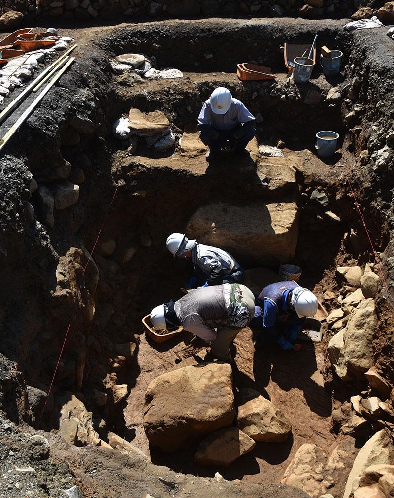 写真:平成の発掘調査
